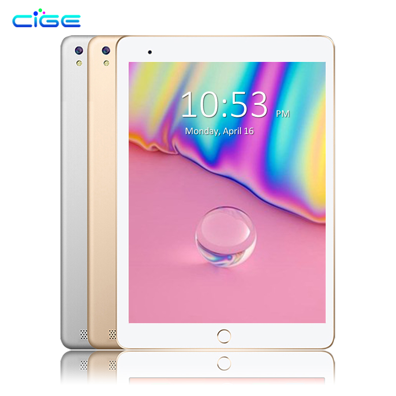 CIGE A6510 10.1 inch Android 6.0 Tablet PC Octa Core 4GB RAM 32GB 64GB ROM GPS 1280*800 IPS 3G Tablets 10 Phone Call Dual SIM 10 inch tablet pc k990 android 7 0 octa core 4gb ram 64gb rom dual sim wifi fm ips phone call 3g gps tablets gifts