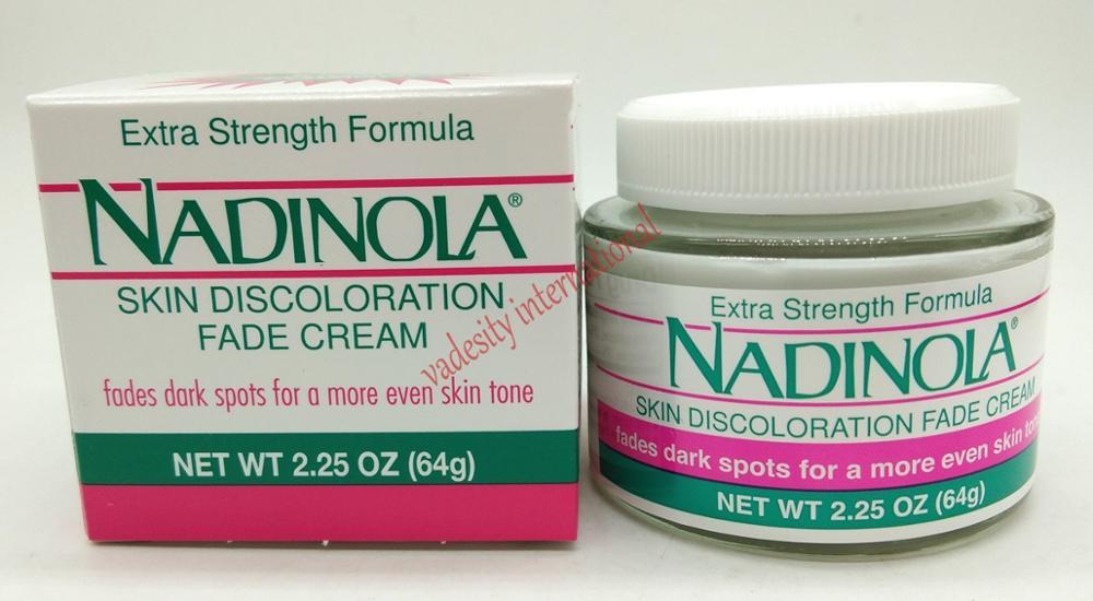 Original Extra Strength Formula Nadinola Skin Discoloration Fade Cream 64g.