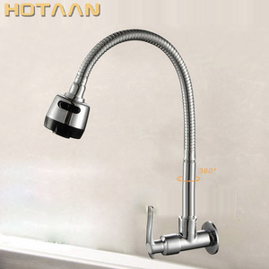 Image 1 - Hot sell,Free shipping,Brass Cold Kitchen Faucet, single Cold Sink Tap, torneira Cold Kitchen Tap,YT 6026 A