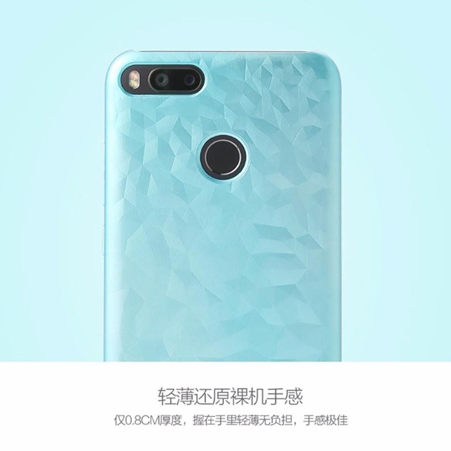 Xiaomi Mi 5X Texture Hard Case Original Back Cover PC + Laquer 5.5 Full Protect Compatible with Mi 5X Abstract Design 2017 (6)