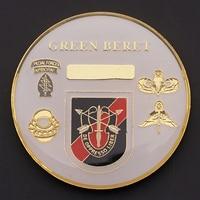 White horse Green Beret 1st Battalion 20th Commemorative Coin Collectible House Decorative Coin Souvenir