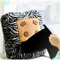 Electric Heating Warm Feet Shoes Girl Party Gifts Cute Cow Knee Pad Blanket Cushion Pillow Winter USB Warmer Foot Shoes