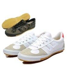 Kung fu tai ji wing chun обувь Оксфорд-подошва парусиновая обувь дышащие спортивные тренировочные кроссовки Brace lee