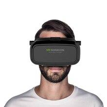 Original VR BOX Virtual Reality 3D Glasses Helmet VR BOX 3D Movie Video for 4.7 6 inch universal Smartphone Wireless Gamepad