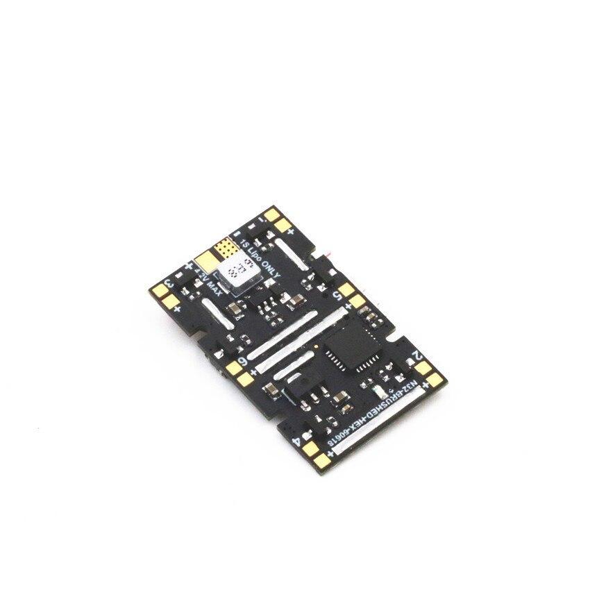 Mini NAZE32 6DOF version de brosse de contrôle de vol récepteur intégré DSM2 6-CH ESC pour bricolage FPV micro salle drone