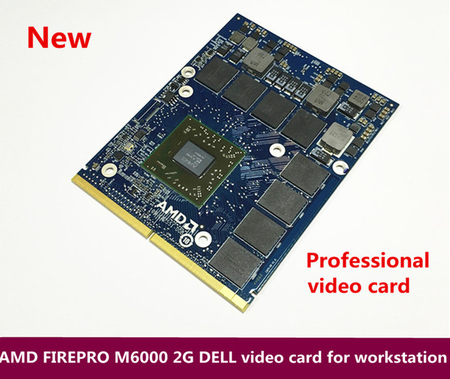 US $100 0 |New original binding AMD FIREPRO M6000 2G DELL Professional  video card for workstation 216 0835033-in Computer Cables & Connectors from