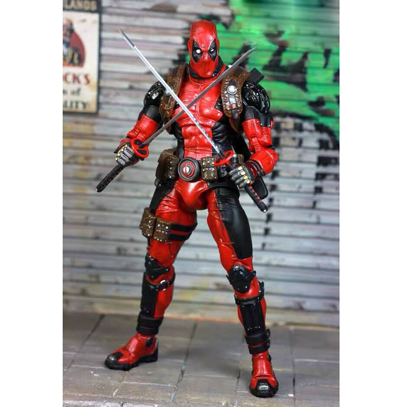 EPIC Marvel Deadpool Super Poseable Ultimate Collectible Action Figure  (2)