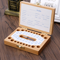 Новый Зуб Организатор Коробка Для Ребенка Экономии Молочные Зубы Дерево Коробка Для Хранения Для Детей Полезно