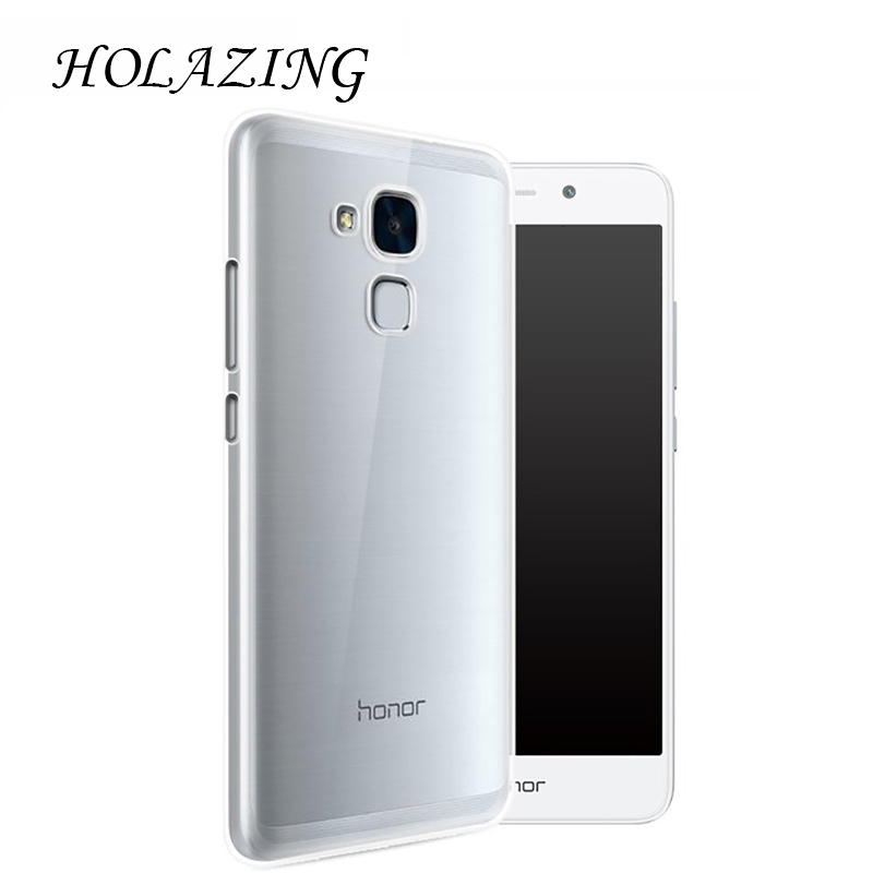 Holazing оптовая продажа прозрачный гель ТПУ Резиновая Мягкий силиконовый чехол для Huawei Honor 5C ультра тонкий защитный кожного покрова