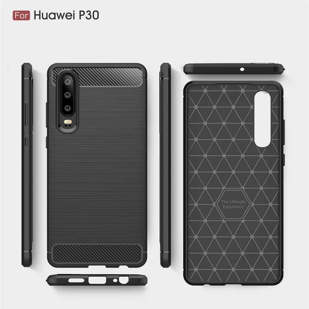 Phone Case sFor Cover Huawei P30 Case Cover For Huawei P30 Pro P 30 Case Fashion Soft Silicone TPU Shockproof Cover Phone Shell in Fitted Cases from Cellphones Telecommunications