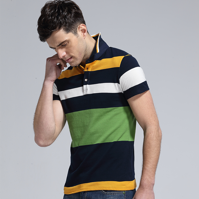 Brand Clothing New Men Polo Shirt Men Business & Casual Solid Men Cotton Short Sleeve Shirt Sleeves Breathable Polo Shirt 2018