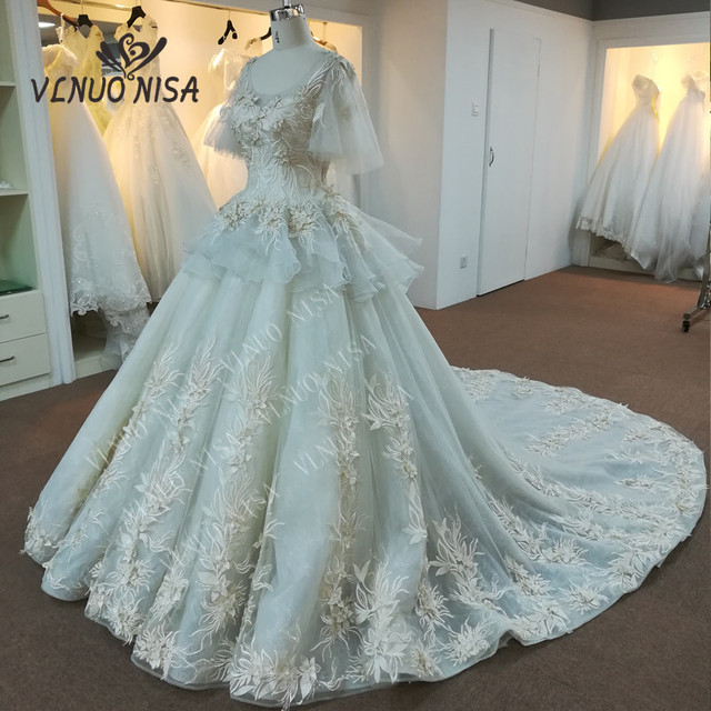 VLNUO NISA high quality real photos luxury Lace embroidery nice ...