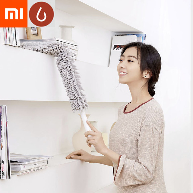Xiaomi Mijia YJ Soft Duster Bendable Brush Dust Cleaner Static Anti Dusting Brush for Home Air-condition Car Furniture Cleaning