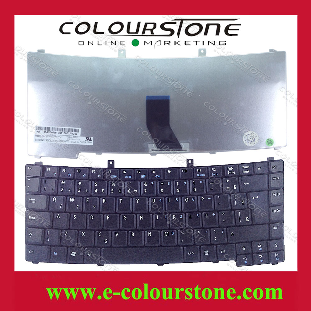 Laptop Keyboard For Acer TravelMate 2300 2310 4000 TM2300 TM2310 TM4000  Series Brazil BR Black Keyboard Teclado keyboard-in Replacement Keyboards  from ...