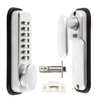 Digital Push Button Door Lock Key Pad Code Combination Access Mechanical Keyless