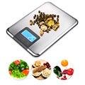 Электронный ЖК-дисплей кухонные весы 15 кг цифровые Многофункциональные кухонные весы измерительный инструмент для смешивания кухонные ин...