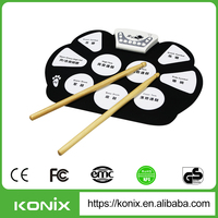 High quality USB MIDI roll up drum kit MD 758 with best service to you