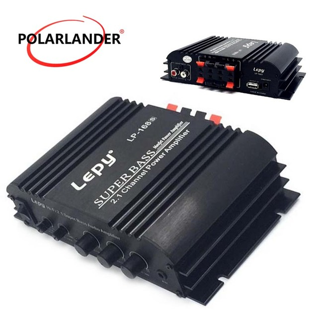 Special Price Mini HiFi 12V Output Power Amplifier Car Auto Home Audio Stereo Bass Amplifier Booster Stereo Sound WithAUX Function Loudspeaker