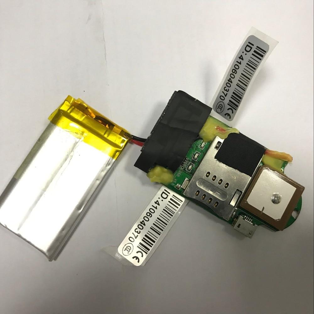 Kleinste haustier auto gps-verfolger 1000 mAh batterie kostenlose plattform DIY