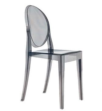 Ghost Stuhl Ohne Armlehnen Teufel Lounge Transparent Gespenst