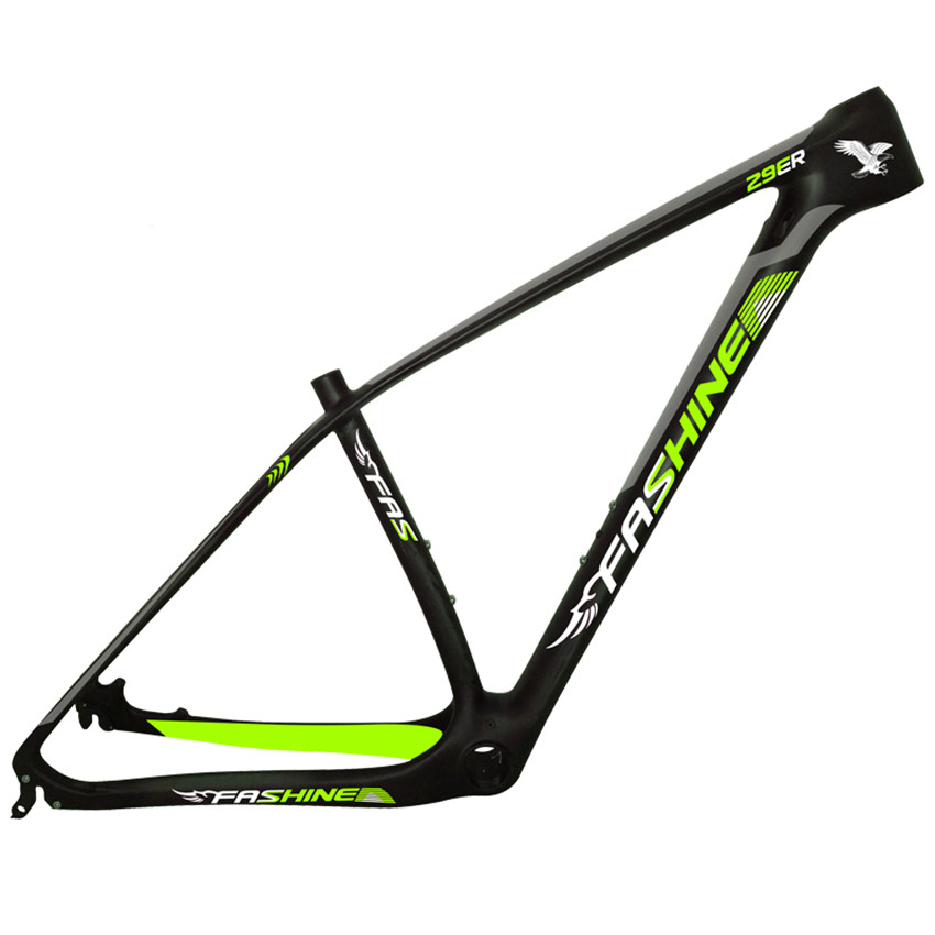 super light 29er 27 5er fat tire mountain bike new carbon frame through axle mtb frame SmileTeam New Model 29er Carbon MTB Frame Carbon Mountain Bike Frame UD Matte 142x12mm Thru Axle Bicycle Frame EMS Free Shipping