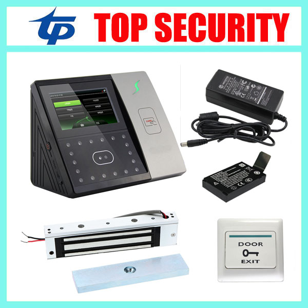 Good quality face and RFID card time attendance iface701 face recognition door access control system with EM lock