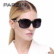 PARZIN Brand Fashion 2017 Sunglasses Women Big Frame Polarized Sunglasses Elegant Luxury Brand Designer Eyewear With Case 9502