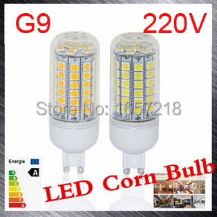 G9 led bulbs SMD 5050 15W LED Corn Bulb Ultra Bright LED Wall lamps 69 LEDs Ceiling light AC 200V 240V 1pcs/LOT energy efficient 7w e27 3014smd 72led corn bulbs led lamps