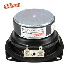 GHXAMP altavoz de graves profundos de 3,5 pulgadas, Unidad de 8Ohm, 20W de largo, para estantería, altavoces de pared Echo para coche, bricolaje, 1 ud.