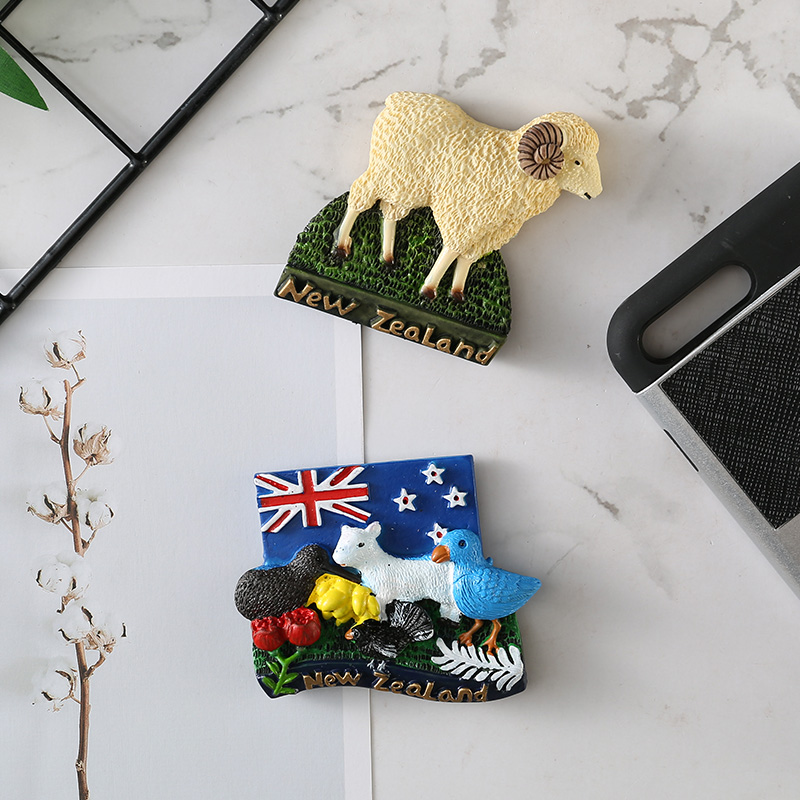 New Zealand Refrigerator Stickers Magnetic Paste Resin
