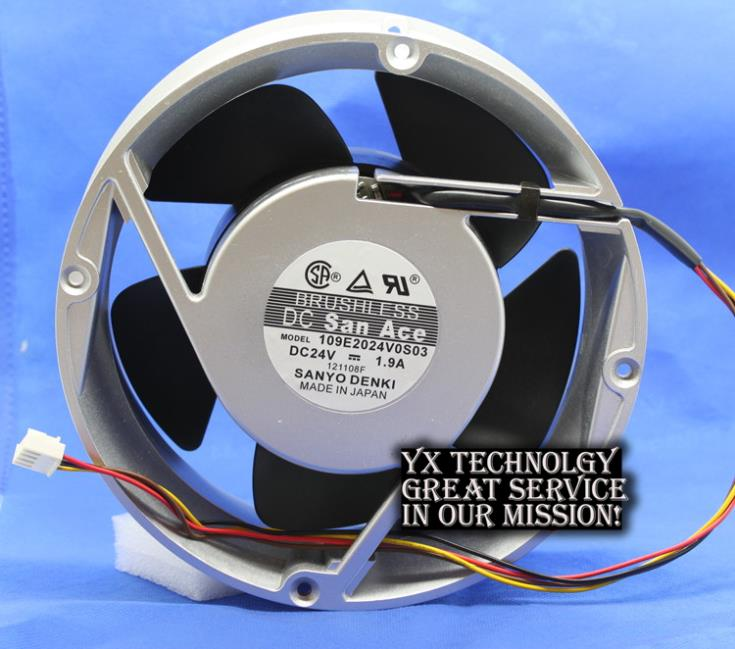 200*200*70MM 4-wire 109E2024V0S03 20070 24V 1.9A Gale aluminum box cooling fan for
