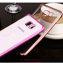 Fashion Luxury High Quality Plating Design Cover Case for Samsung Galaxy S5/S6/S6 edge/S6 edge Plus/ S7 / S7 edge Note 4 Note 5