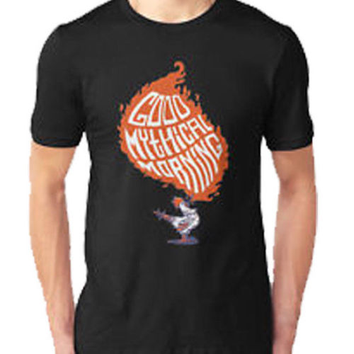 Good Mythical Morning New T-Shirt Mens Black