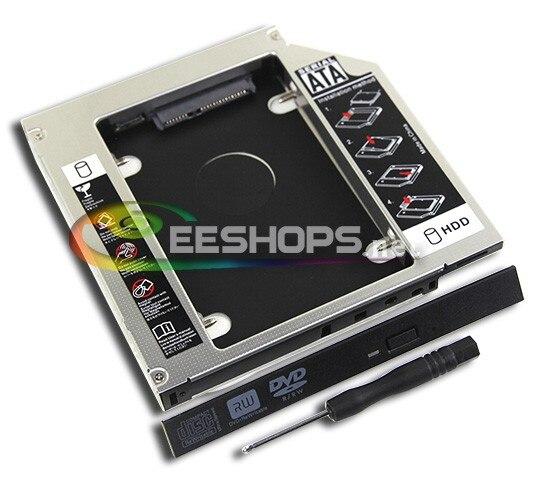 Für Sony Vaio Laptop. HDD SSD Caddy Zweite Solid State Disk Optisches...