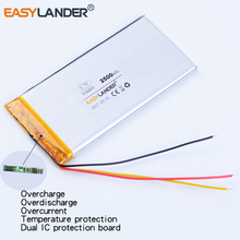 AEC504499 504499 3.7V 2500mAh Rechargeable li-Polymer Battery For Electronic