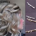 European and American trade jewelry Sell Hair pins Hairwear Bijoux Hair Accessories Gold/silver plated barrettes clips for Women