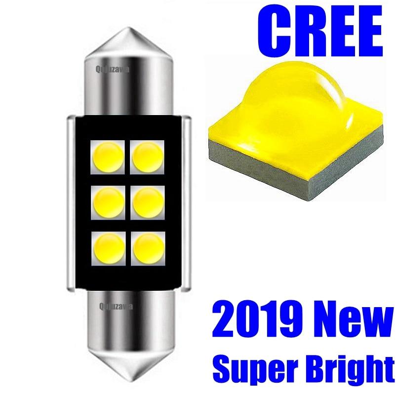 Festoon 31mm 36mm 39mm 41mm C5W C10W Super Bright CREE Chips LED Car Lights Canbus Error Free Interior Doom Lamps Reading Bulbs