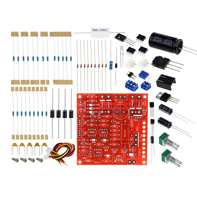 New 0-30V 2mA-3A DC Regulated Power Supply DIY Kit Continuously Adjustable Short Circuit Current Limiting Protection DIY Kit