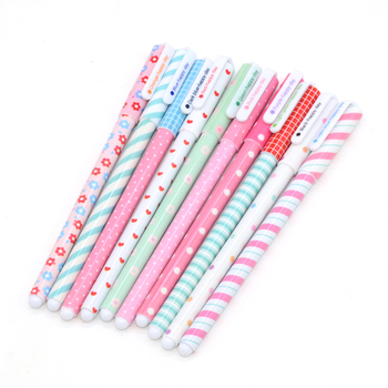 10 pcs/lot Gel Pen Kawaii School Supplies Lapices Boligrafo Cute Papelaria Stylo Criativa Caneta Colorida Pens Jel Kalem