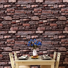 Retro simulation Brick stone texture wallpaper Thick living room restaurant Study room Entrance Cafe Background wallpaper цены онлайн