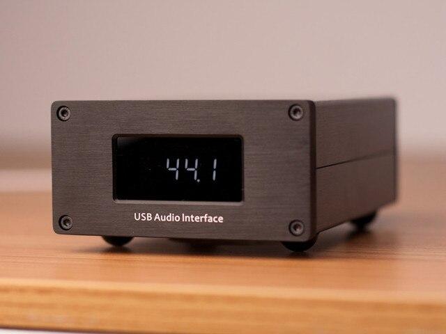 R-073 L.K.S Audio USB-100 Italy Amanero program USB Interface Converter I2S Output (I2S-E) and I2S-H PCM44.1K~384K DSD64~DSD512
