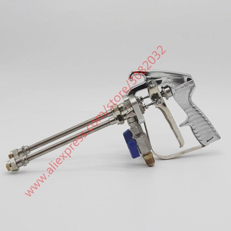Maniglia Metallo plastica Schiuma Pistola a spruzzo espansione NaiCasy Pistola a spruzzo sigillante erogazione Pu Isolamento utensile Rivestimento