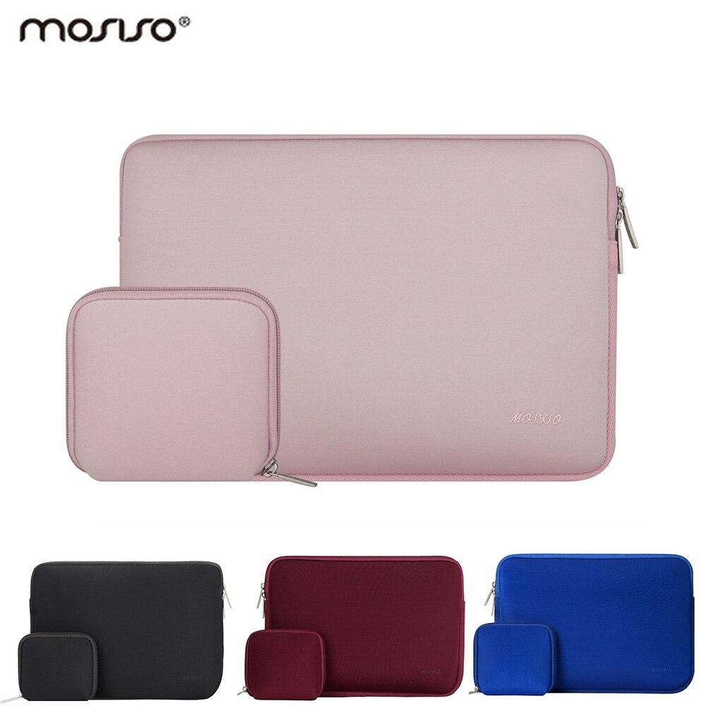 Mosiso Waterproof 11.6 13.3 15.6 inch Laptop Sleeve Bag for All MacBook Air Pro 11 12 13 15 HP Asus Notebook Handbag Case