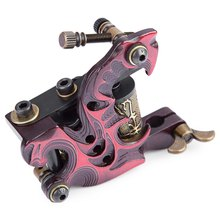 Body Painting Tattoo Machine Grade-A Dragon Type Tattoo Gun For Shader 10 Wraps Coils Basic Starter Set Tattoo Painting