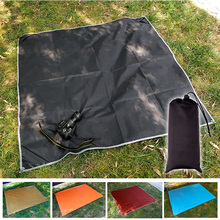 Beach mat multifunctional moistureproof picnic foldable portable waterproof encamp Oxford cloth mattress camping canopy