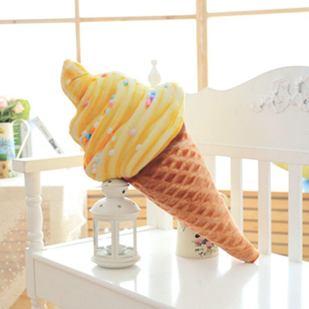 Забавное сладкое мороженое Подушка 30 см 4 узора диван плюшевая Мягкая кукла офис