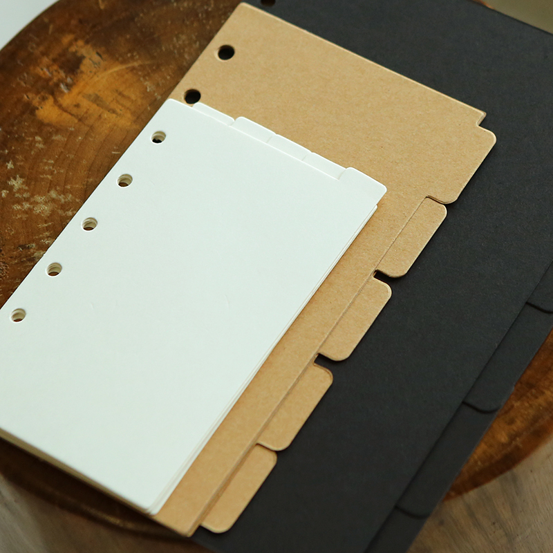 <font><b>A5</b></font> A6 A7 cardboard loose-leaf <font><b>notebook</b></font> befriend daily memos paper <font><b>spiral</b></font> business filler papers index sheets image