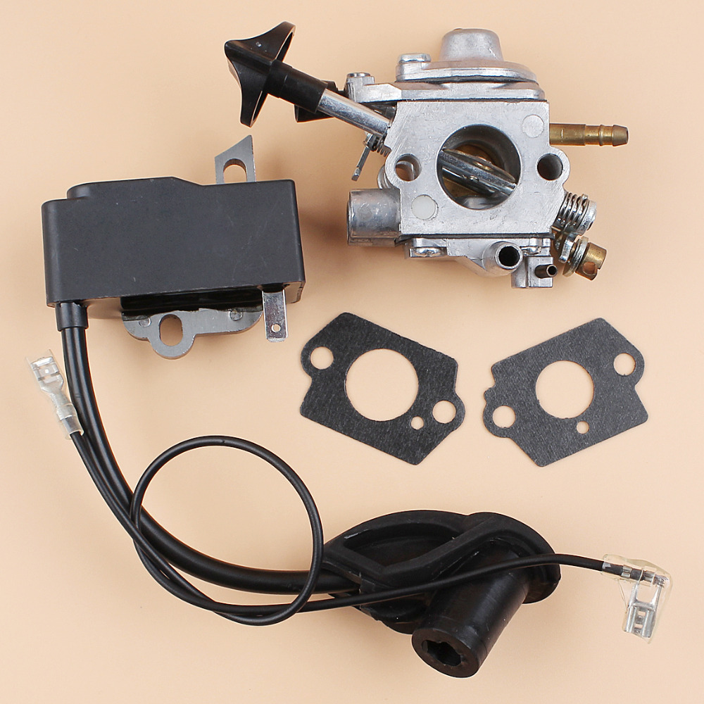 US $24 12  Carburetor Ignition Coil Module For STIHL BR600 BR550 BR500 Leaf  Backpack Blower Engine Motor Parts Zama C1Q S183 Carb-in Grass Trimmer