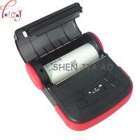 MTP 3 Mini portable Bluetooth thermal printer 80mm sticker printer ticket printer support Andrews 1pc