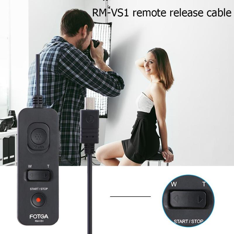 Image 5 - RM VS1/RM VP1 Remote Control for Sony Shutter Release for Sony RM VPR1 A 5100 A 7S A 5000/Panasonic GH5 GH4 GH3 DMW RSL1/RS1-in Shutter Release from Consumer Electronics